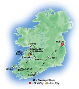 Ireland vacation - Ireland Coach Tour