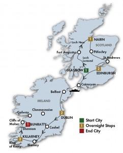 Nairn Scotland Map.10 Days Taste Of Scotland Ireland My Holiday Ireland