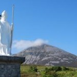 Croagh Patrick & Statue