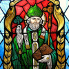 St Patrick Stained Glass